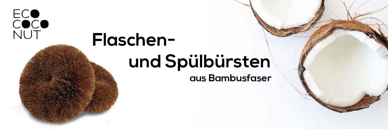 Ecococonut - plastikfreie Spülbürste